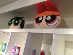 4. Shelf with Blossom and Buttercup