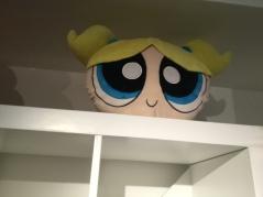 5. Bubbles on shelf