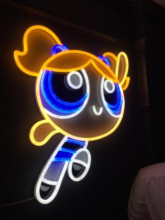 9. Neon Bubbles