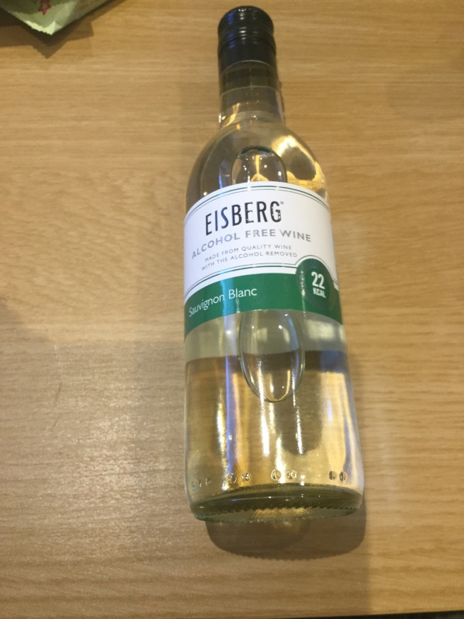 7. Eisberg alcohol free wine