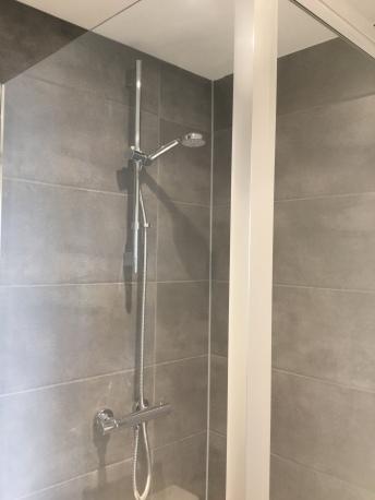13. Second flat shower