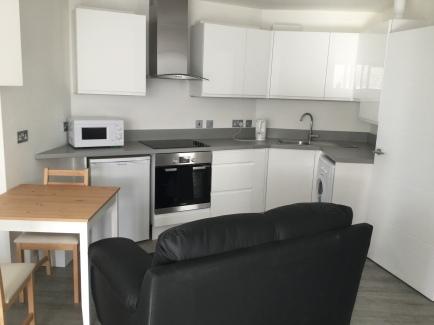 14. Second flat kitchen