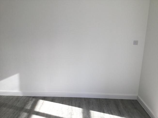 17. Second flat lounge wall