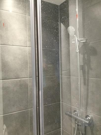 4. First flat shower