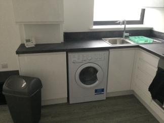 8. First flat kitchen 2