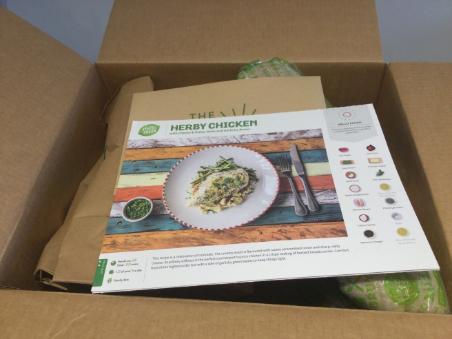 HelloFresh box 2