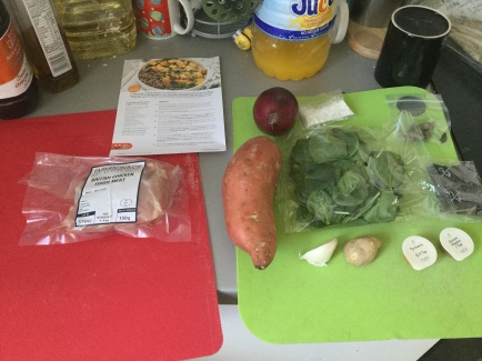 13. Curry ingredients