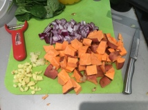 14. Curry ingrediet prep