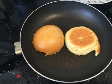 24. Burger prep step 14