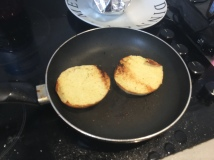 25. Burger prep step 15