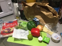 69. Enchiladas ingredients