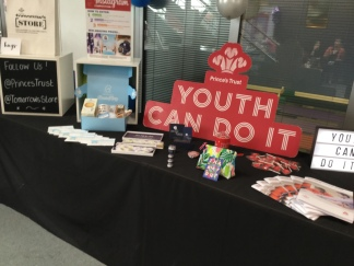 Prince's Trust display