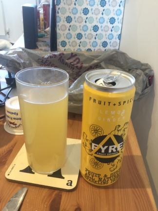 FYRE Lemon and Ginger