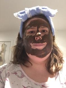 April headband Cupcake mask