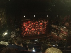 Lion King stage
