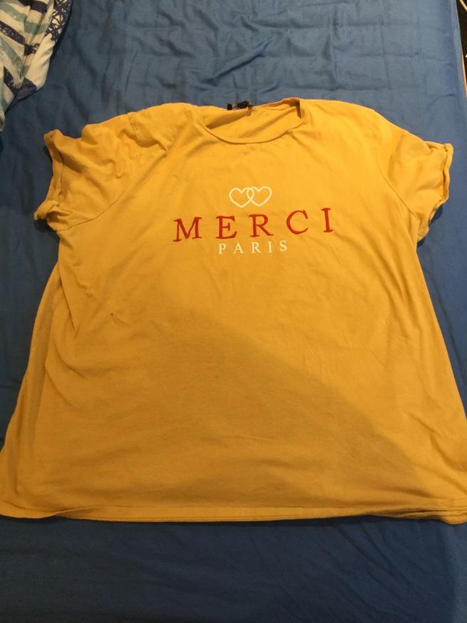 Merci Paris T shirt