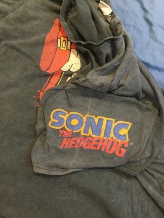 Sonic T shirt 2