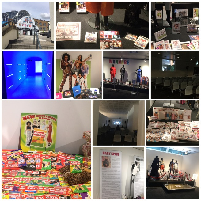 SpiceUp London Exhibition collage