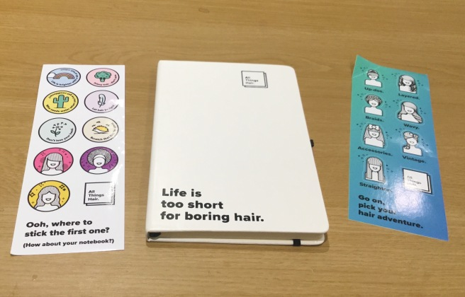 All Things Hair Book and Stickers