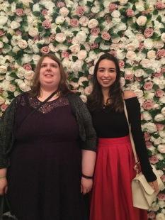 April and Jordan Flower Wall 2
