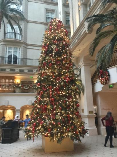 Landmark Christmas tree