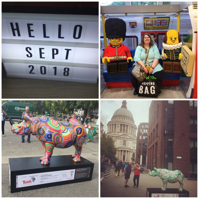 September 2018 collage