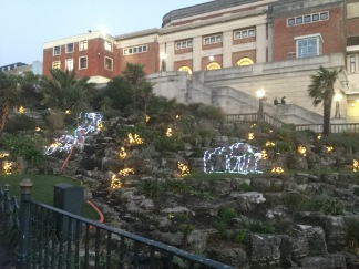 bctw waterfall lights