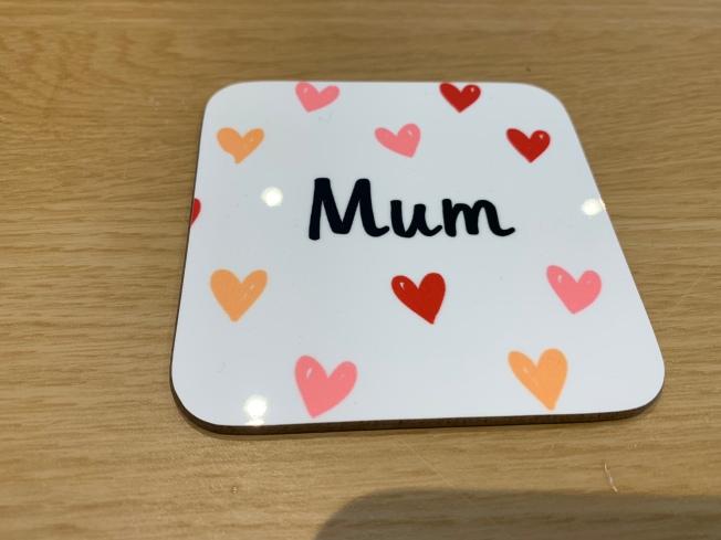 mum's coaster