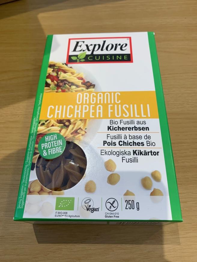 Chickpea Fusilli
