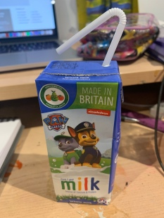 Paw Patrol Milk