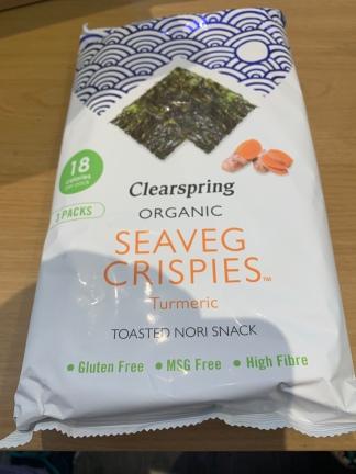 Seaveg Crispies 1
