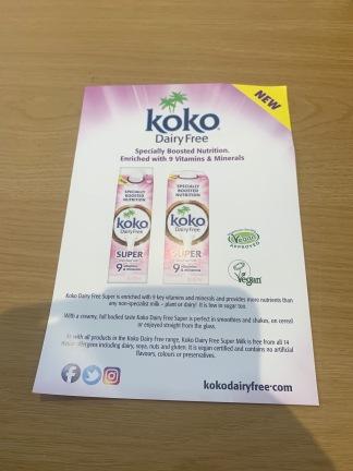 Koko Dairy Free Flyer