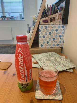 Lucozade Watermelon and Strawberry 2