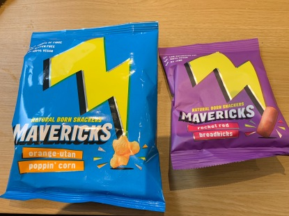 Mavericks snacks