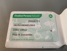 Disabled Person Railcard