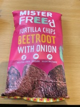 Mister Freed Beetroot Chips