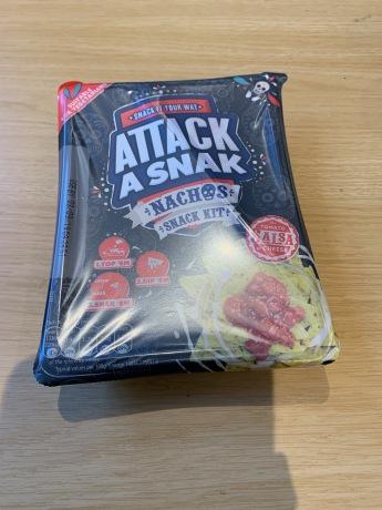 9. Attack a Snak Nachos