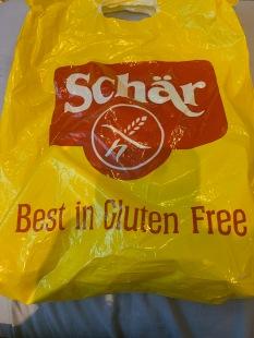 20. Schar goody bag