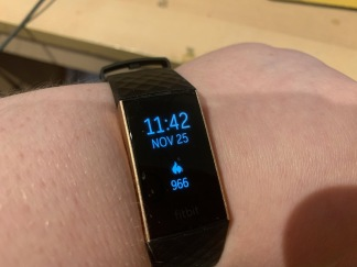 49. Fitbit Charge 3 black