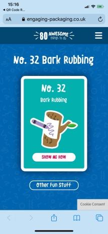 Bark Rubbing 1