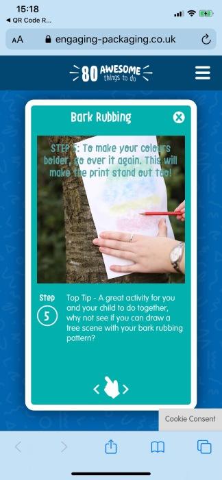 Bark Rubbing 8