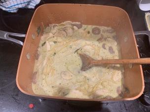 One pot chicken pasta 1