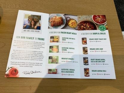 Amy's Kitchen Leaflet 2