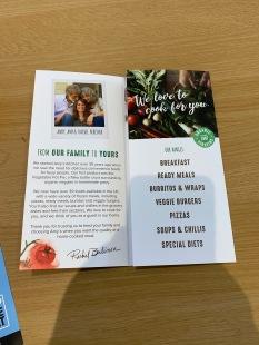 Amy's Kitchen Leaflet 3