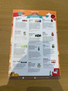 Degusta Box Oct 19 List