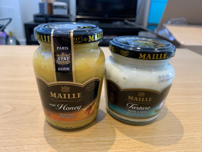 Maille Honey and Tartare