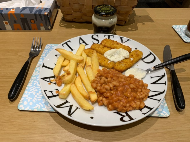 Maille Tartare with Fish Fingers