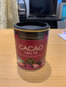 Food Thoughts Cacao Melts 1