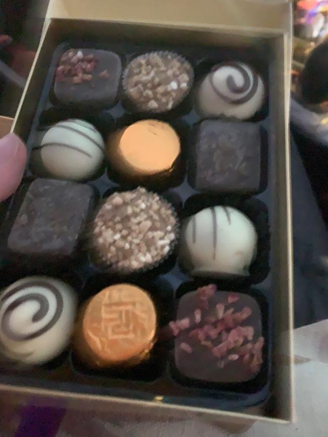 15. Theatre chocolates