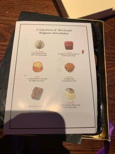 16. Theatre chocolates key